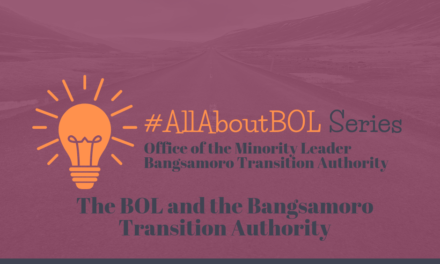 The BOL and the Bangsamoro Transition Authority