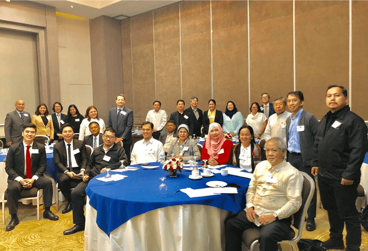 US Embassy Hosts Consultative Meeting with USG Alumni-Members of the BTA