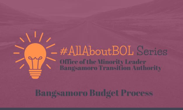 Bangsamoro Budget Process