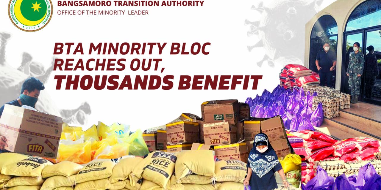 BTA minority bloc reaches out, thousands benefit