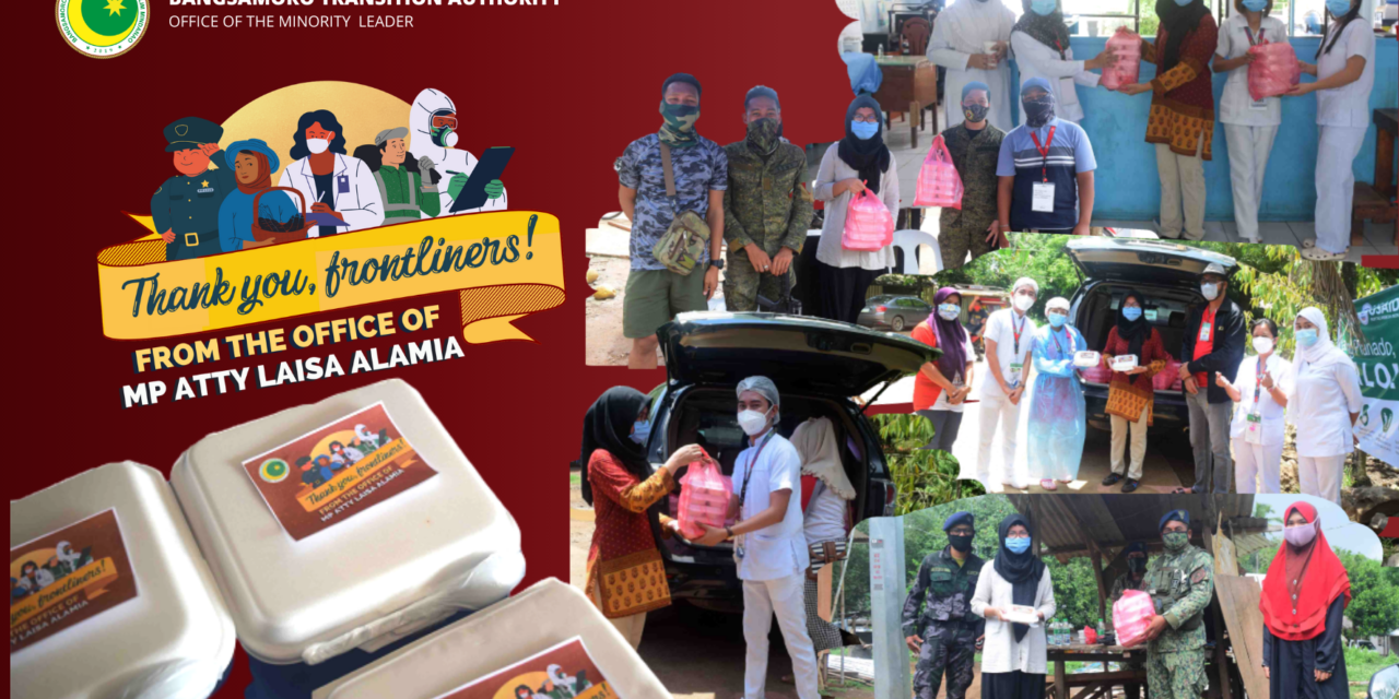 Distribution of Food Packs to Frontliners