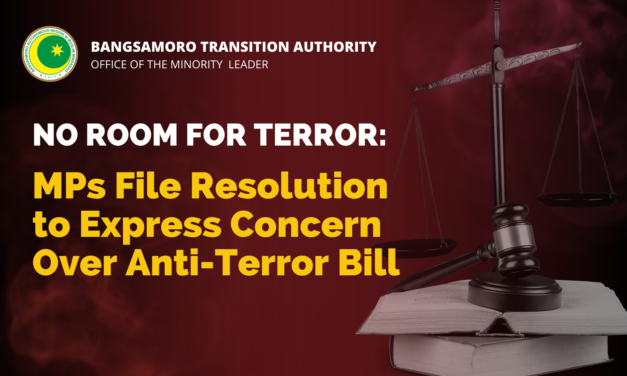 No Room for Terror: MPs File Resolution to Express Concern Over Anti-Terror Bill