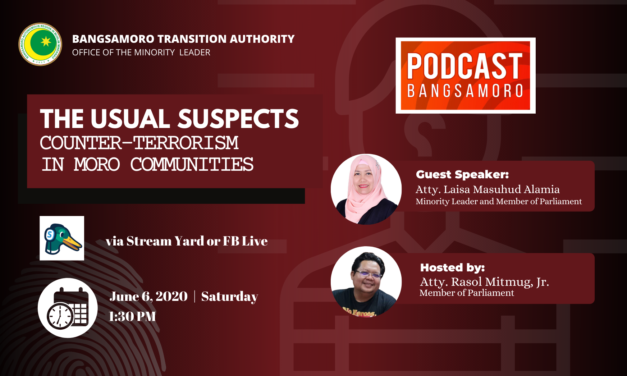 Podcast Bangsamoro: The Usual Suspects