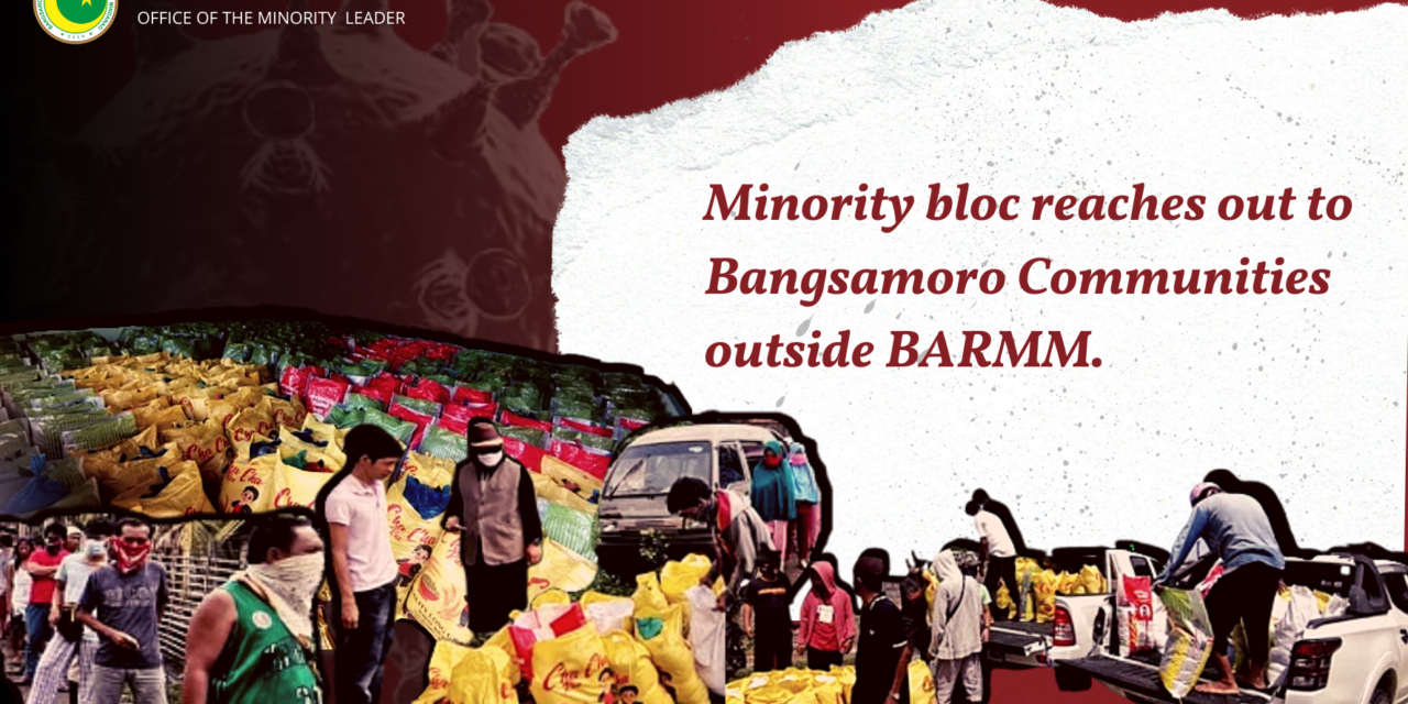 Minority bloc reaches out to Bangsamoro communities outside the BARMM