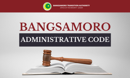 Bangsamoro Administrative Code