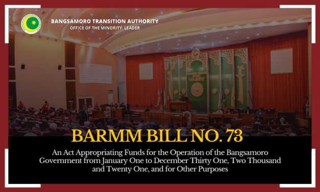 BARMM Bill No.73