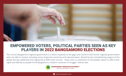 Empowered voters, political parties seen as key players in 2022 Bangsamoro elections