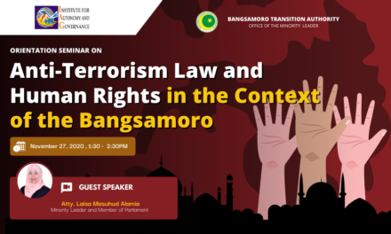Orientation Seminar on the Anti-Terrorism Law and Human Rights