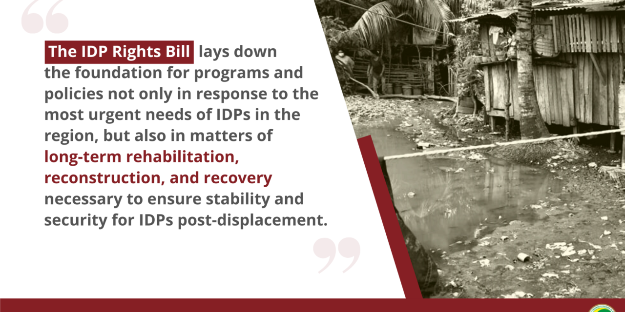 Why an IDP Rights Bill