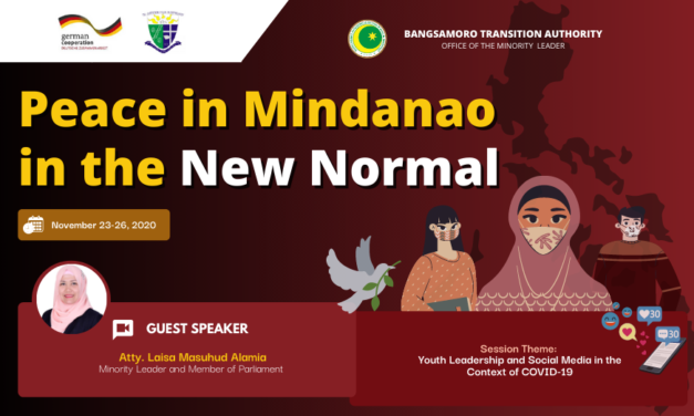 MPSC: Peace in Mindanao in the New Normal