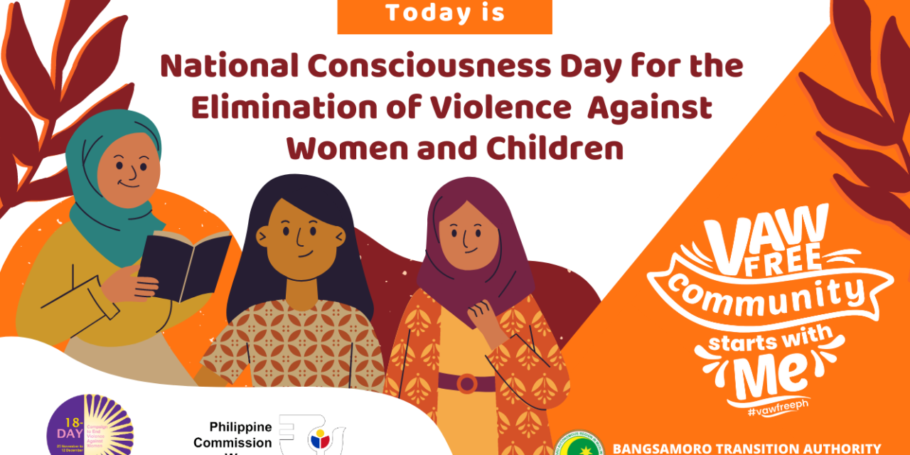2020 National Consciousness Day for the Elimination of VAWC