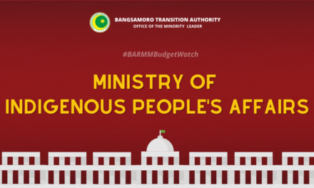 #BARMMBudgetWatch: Ministry of Indigenous People's Affairs