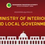 #BARMMBudgetWatch: Ministry of Interior and Local Government