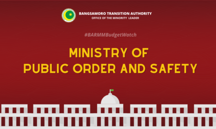 #BARMMBudgetWatch: Ministry of Public Order and Safety