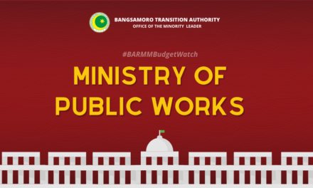 #BARMMBudgetWatch: Ministry of Public Works