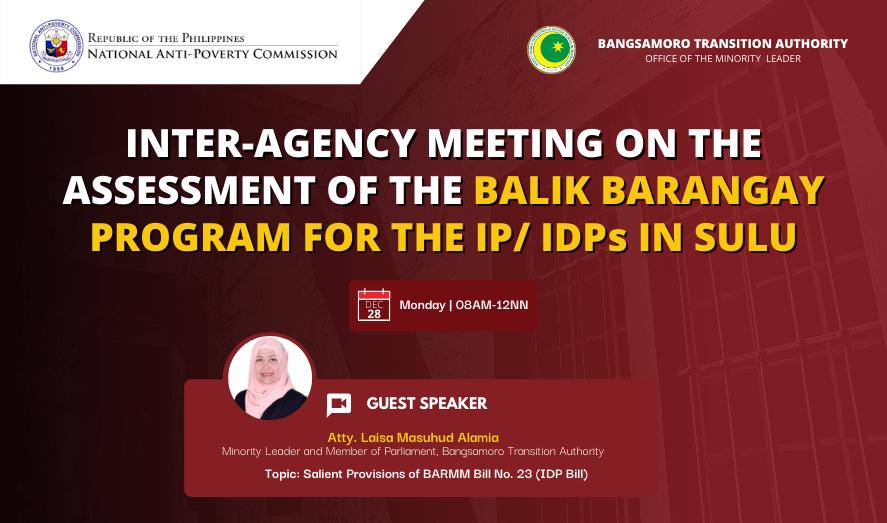 Online Inter-Agency Coordination Meeting