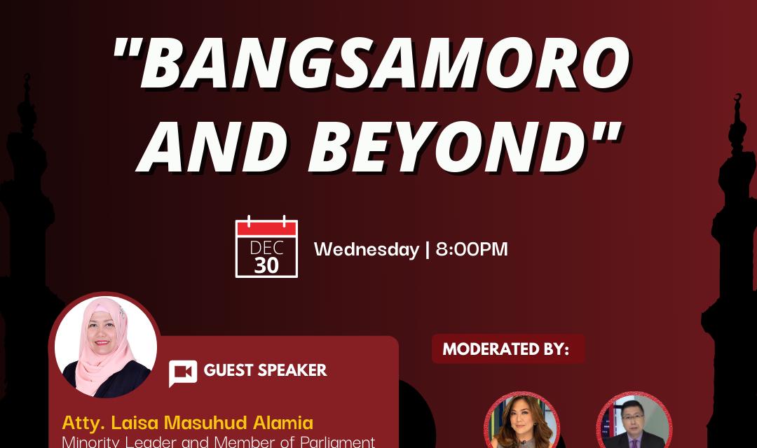 Bangsamoro and Beyond
