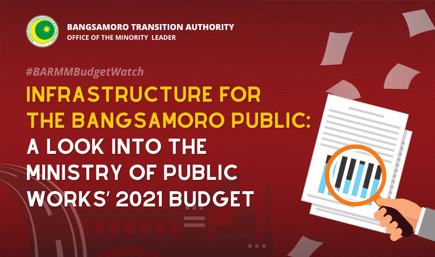 Infrastructure for the Bangsamoro Public: A Look into the Ministry of Public Works' 2021 Budget
