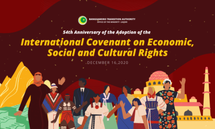 54th Anniversary of the Adoption of the International Covenant on Economic, Social and Cultural Rights