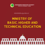#BARMMBudgetWatch: Ministry of Basic, Higher and Technical Education