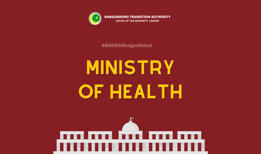 #BARMMBudgetWatch: Ministry of Health