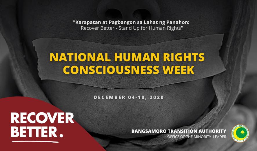 2020 National Human Rights Consciousness Week