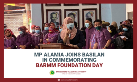 MP Alamia Joins Basilan in Commemorating BARMM Foundation Day