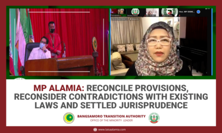 MP Alamia: Reconcile provisions, reconsider contradictions with existing laws and settled jurisprudence