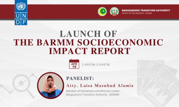 Launch of the BARMM Socioeconomic Impact Report