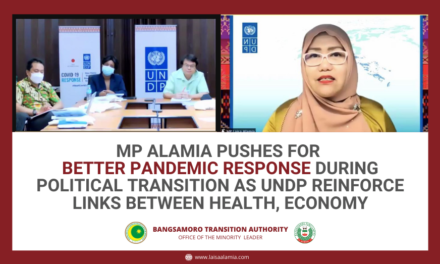 MP Alamia pushes for better pandemic response during political transition as UNDP reinforce links between health, economy