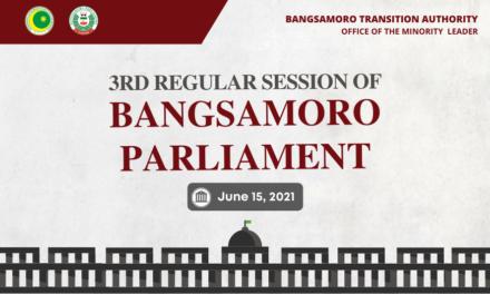 Bangsamoro 3rd Regular Session