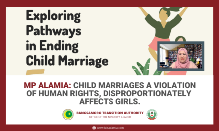 MP Alamia: Child marriages a violation of human rights, disproportionately affects girls.