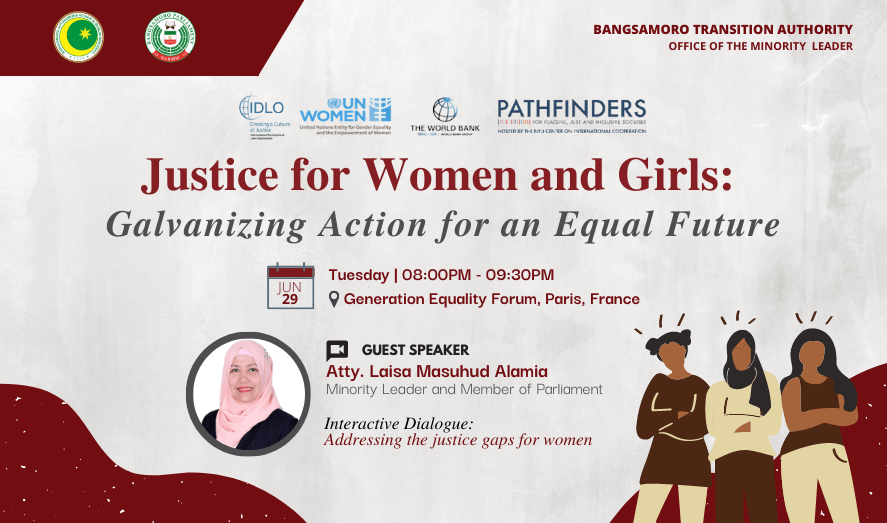 Justice for Women and Girls: Galvanizing Action for an Equal Future