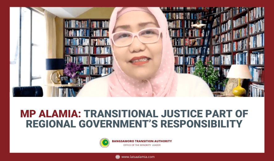 MP Alamia: Transitional justice part of regional government's responsibility