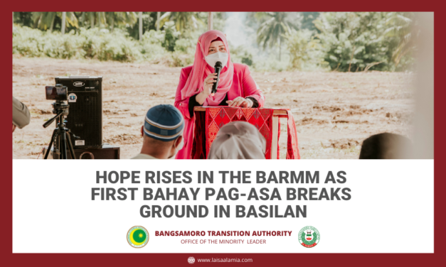 Hope rises in the BARMM as first Bahay Pag-asa breaks ground in Basilan